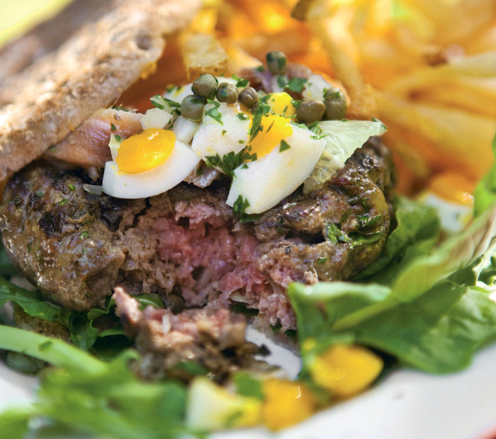 Beef Tartare Burger Recipe