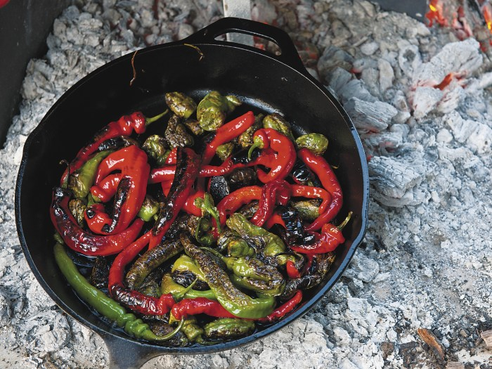 Charred Padrón Peppers With Lemon And Sea Salt Recipe
