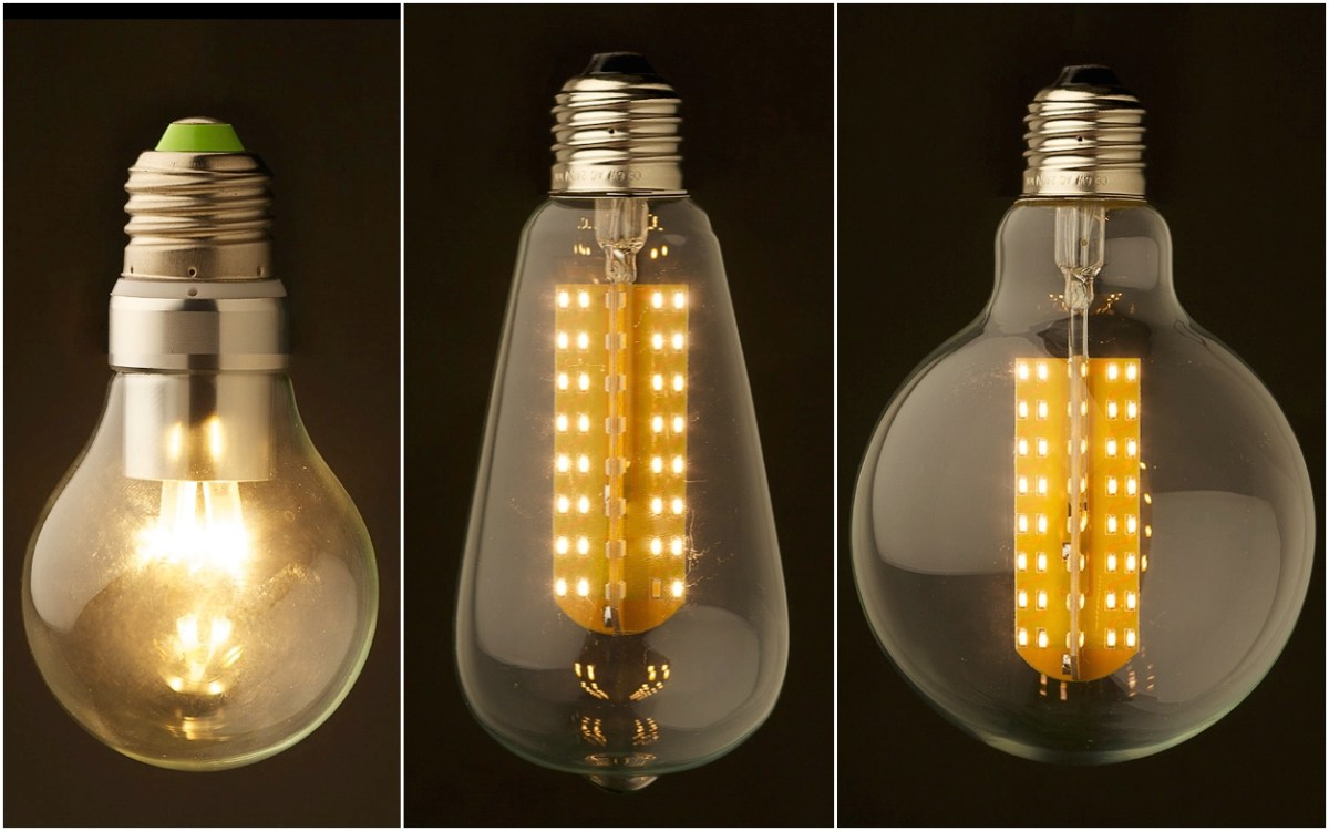 Hey Restaurant Designers There Are Now Edison Style Led Light Bulbs Food Republic