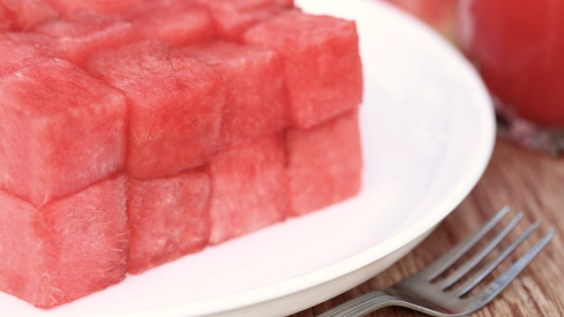 Problem Solving With Sharp Knives: Cube A Whole Watermelon In Under 30 Seconds