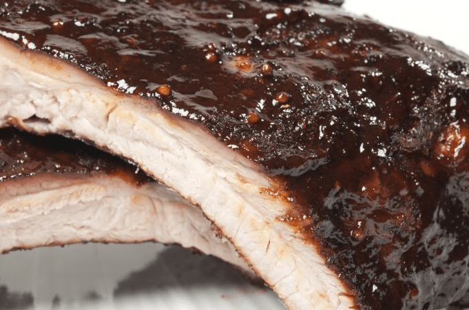 aleppo rubbed pork ribs recipes dishmaps my ribs with the dry rub rib ...