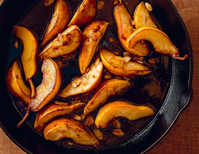 Roasted Maple Balsamic Pears Recipe