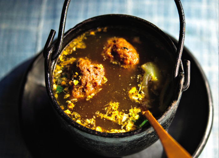 steamed pork meatball soup recipe