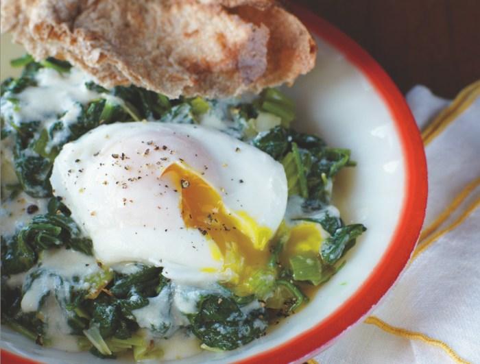 creamed spinach cheddar recipe