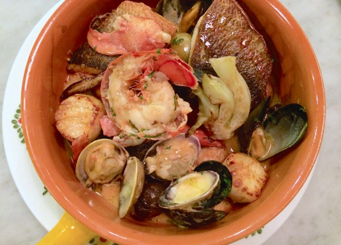 Feast of seven fishes in one pot recipe food republic for Seven fishes recipe