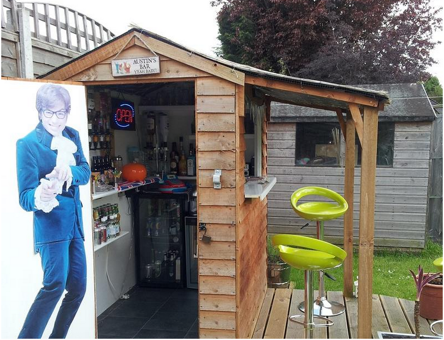 Shed Into Man Cave : Is america ready for a bar shed invasion? food republic
