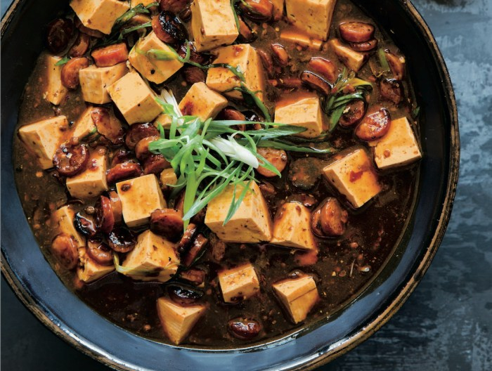 Mapo tofu with crispy chinese sausage recipe food republic forumfinder Images