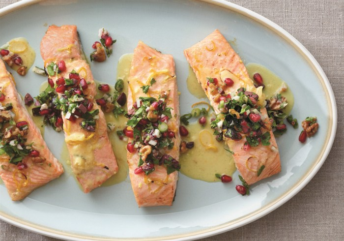 This salmon is fresh, flavorful, and designed to enhance your mind, mood and Instagram account.