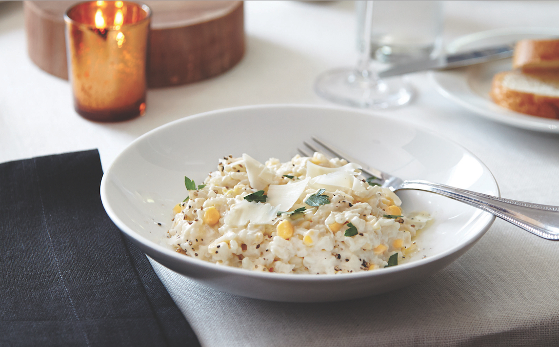 Straight From Georgia: Sweet Corn Risotto | Food Republic