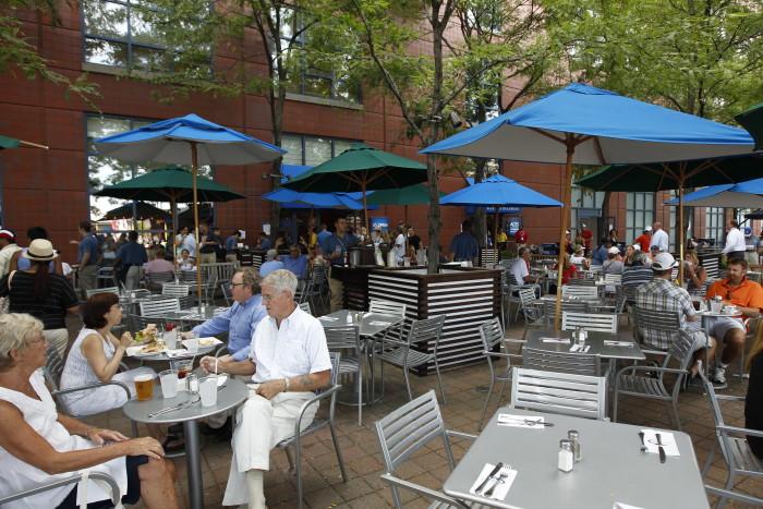 2011 US Open;Restaurants;Patio Cafe
