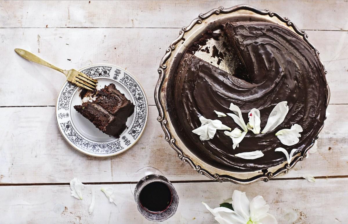 Vegan Dark Chocolate-Avocado Cake   Food Republic