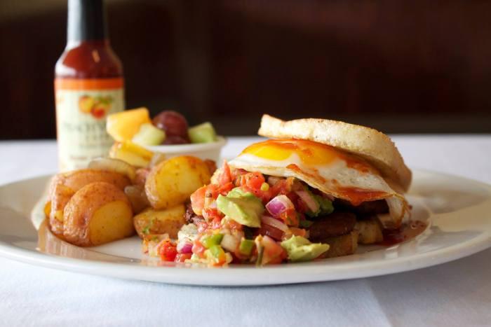 Peach Valley Breakfast Sandwich Facebook