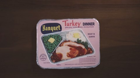 For a brief moment in the 1950s, our family tables were actually trays for these microwavable meals.