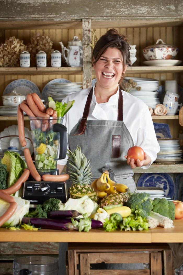 Chef Christine Flynn. (Photo: Huge Galdones.)