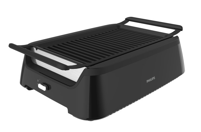 Tested: The New Smokeless Philips Indoor Grill - Food Republic