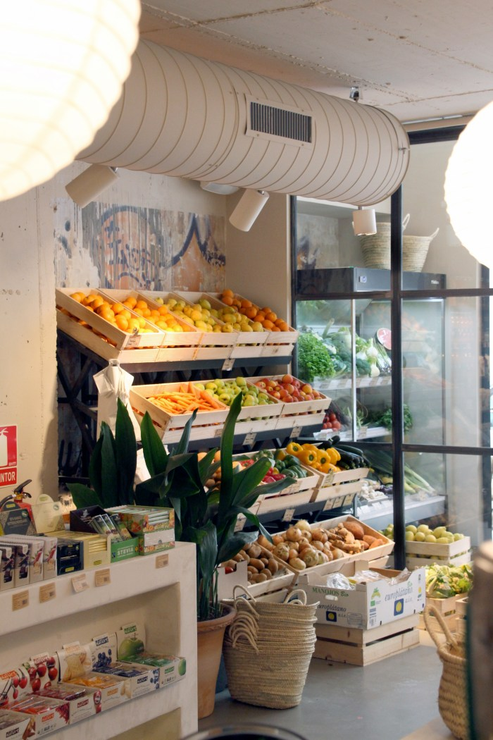 Woki Organic Market's success stems from Barcelona's food market culture.