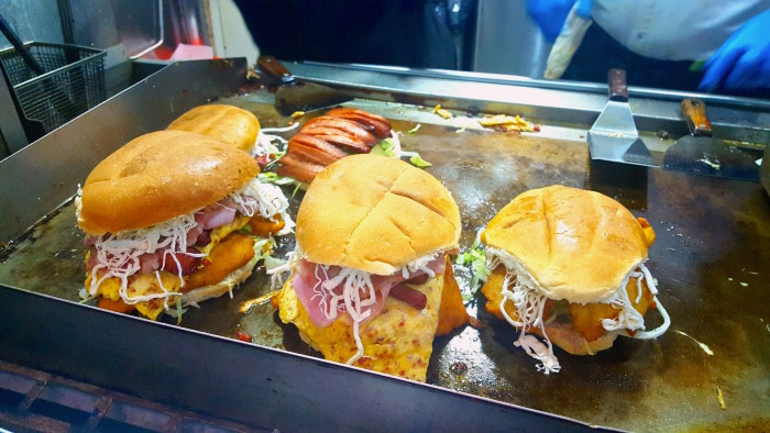 "Galdino ""Tortas"" Neza's signature sandwich, the Tortas Pumas, named for his favorite soccer team, is no joke."