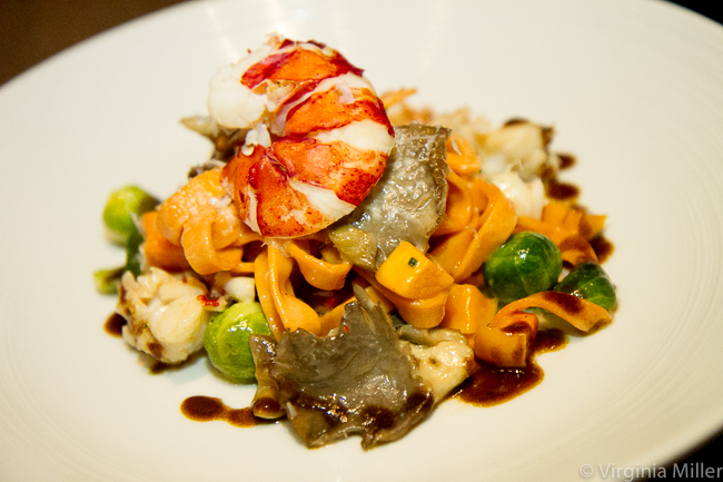 Island Creek Oyster Bar Lobster Noodles Boston-Photo Credit Virginia Miller