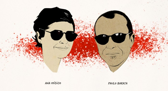 Blood n' Guts' founders, Ana Músico and Paulo Barata.