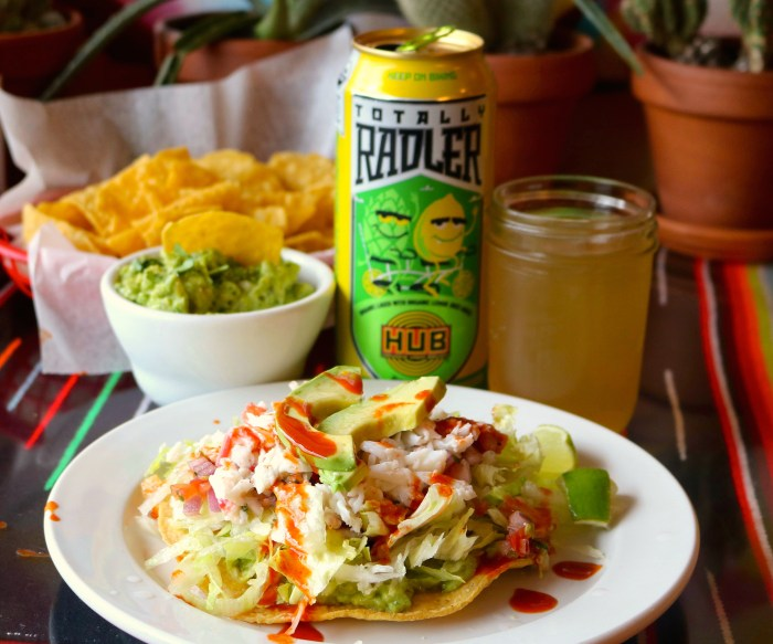 King Crab Tostada