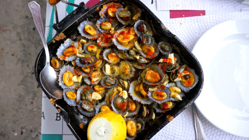 grilled limpets azores_Jenny Miller