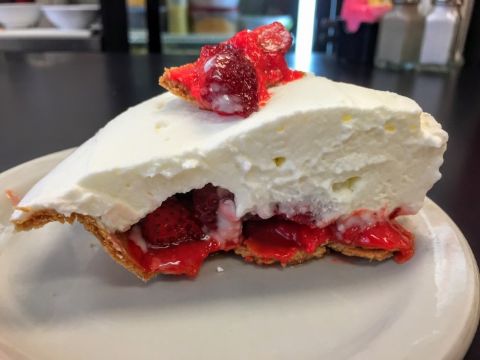 Strawn's Eat Shop Strawberry Icebox Pie - Wallace Levy