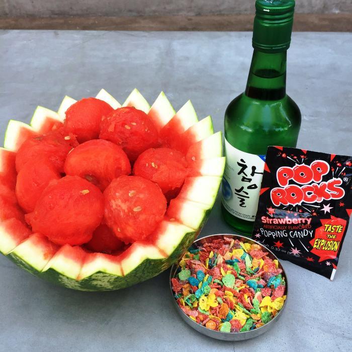 Watermelon Soju_credit Hanjip