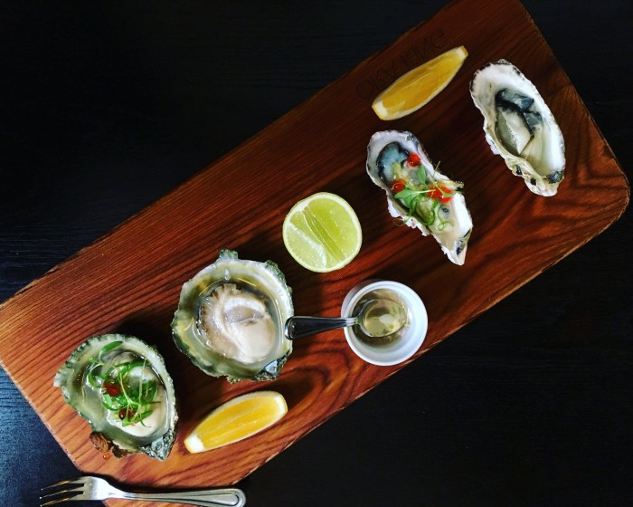 bluff oysters