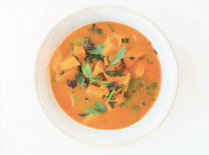 thai spiced pumpkin soup recipe