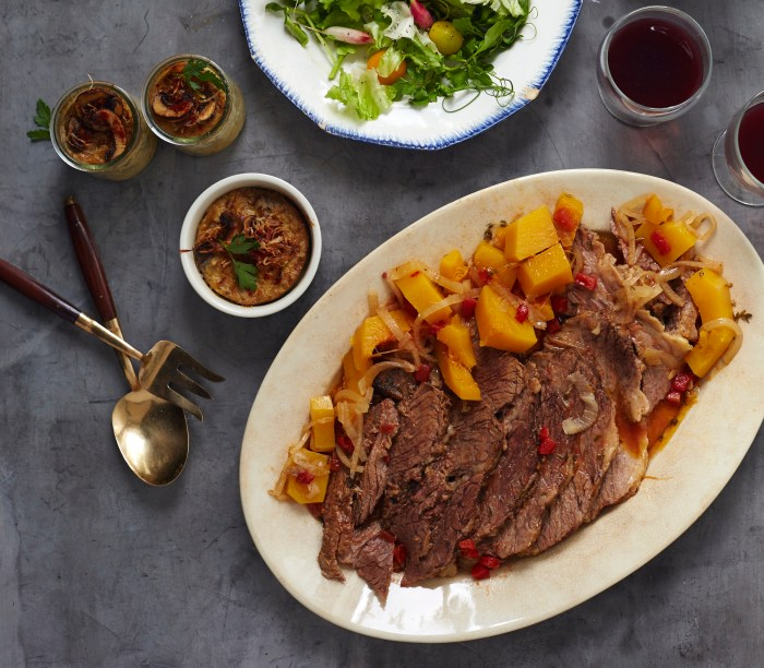gefilteria's wine-braised brisket recipe