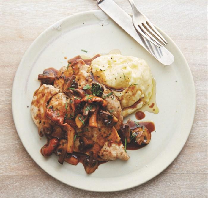 Chicken Scaloppine With Marsala