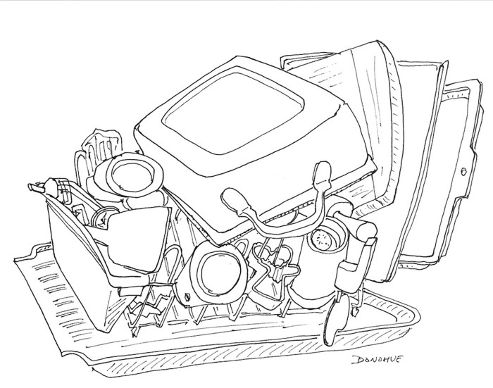 dish rack drawing gift guide