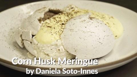 corn husk meringue photo