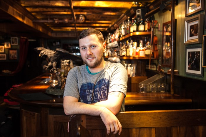 Jack McGarry, owner of the world's best bar, The Dead Rabbit in NYC, no longer drinks.