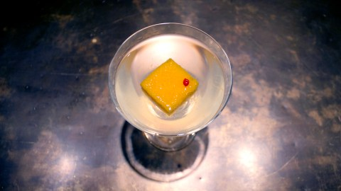 Improved Saffron Gin Cocktail Recipe - Food Republic