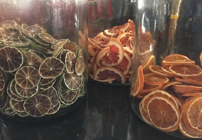 garnishes at Potato Head Folk