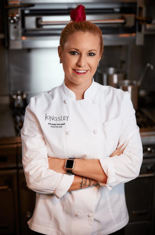 Chef Roxanne Spruance