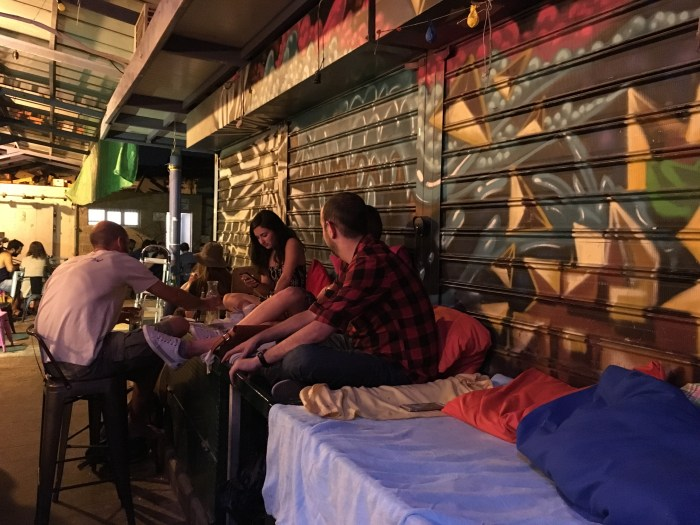 Mahane Yehuda, where youths drink cocktails after grocery hours. (Photo: Tiffany Do.)