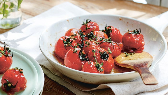 Roast Tomatoes With Lemon