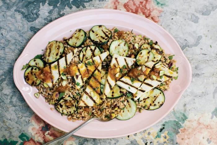 Orange-Glazed Grilled Tofu