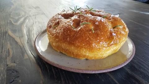 sfincione bread from Felix Trattoria