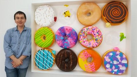 giant doughnuts