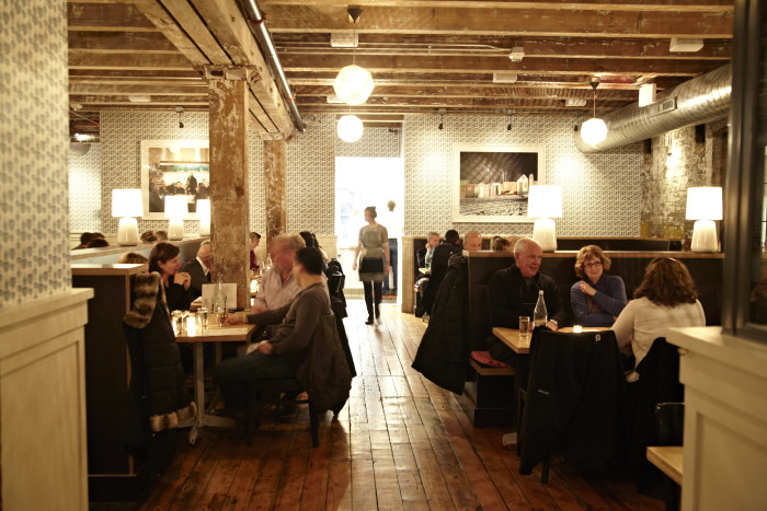 Open morning through night, The Bachelor Farmer touts a cafe, bar, dining room, and plenty of private dining rooms. (Photo credit: The Bachelor Farmer)