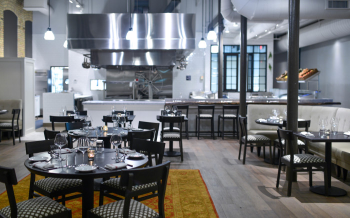 Spoon and Stable, located in the hip North Loop neighborhood, is a New American restaurant that's driven by approachable, yet slightly elevated cuisine. (Photo credit: Spoon and Stable)