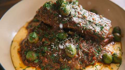 braised spareribs
