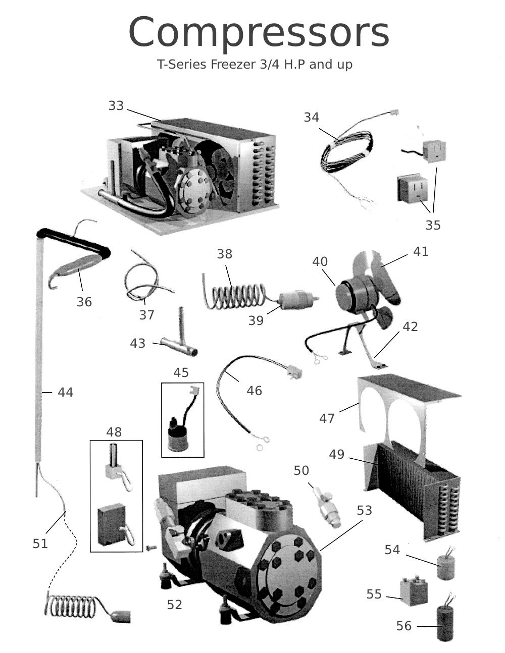 for true cooler compressor wiring diagram