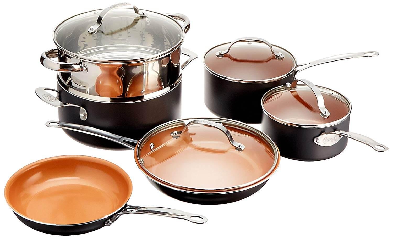 Fullsize Of Copper Pot Set