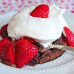 Ghirardelli Soft Center Chocolate Cake