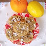 Tropical Coconut Oatmeal Cookies