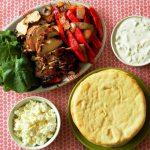 Greek Chicken Fajitas {and my first giveaway!}